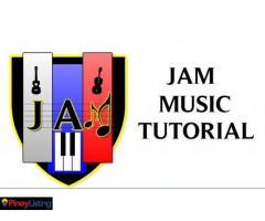 J.A.M music tutorial