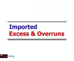 Imported Excess & Overruns