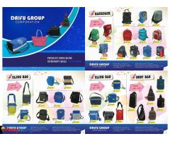 PROMOTIONAL, CUSTOMIZE, CORPORATE GIVEAWAYS AND MANUFACTURER of  BAG