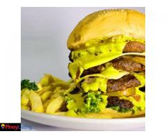 Naughty Krato's Flame Grilled Burger