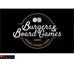 Burgers & Board Games