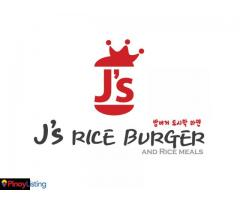 J's Rice Burger and Rice Meals