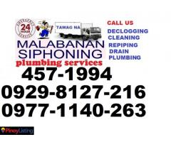 ACE.METRO MANILA & NEGROS MALABANAN SIPHONING SERVICES