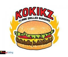 Kokikz Flame Grilled Burger