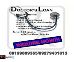 Doctors LOAN 1day release