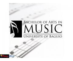 Bachelor of Arts in Music- University of Baguio