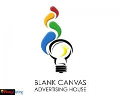 Blank Canvas Advertising House