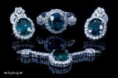 Aquamarine Gold and Silver Jewellery
