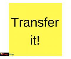 Transfer it
