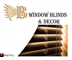 BCA Window Blinds and Upholstery