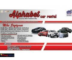 Alphabet Car Rental