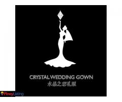 Crystal Wedding Gown Manila